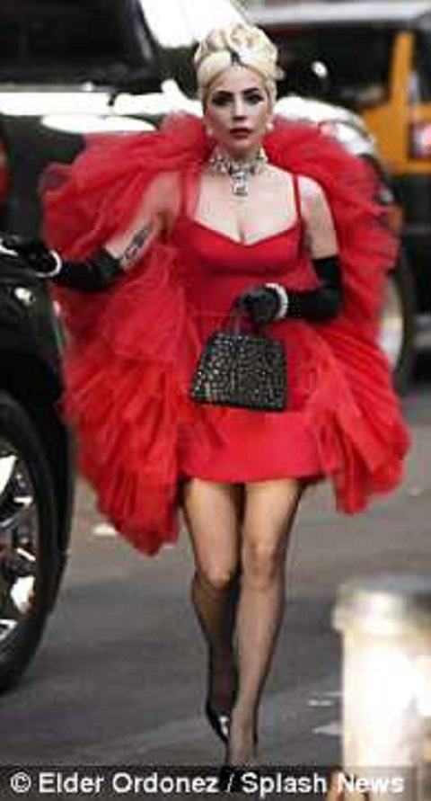 Lady Gaga Wears Three Outfits In A Day And Shows Off