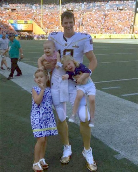 American NFL Player Eli Manning Married to Wife Abby