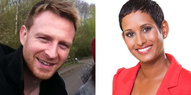 Husband and wife couple: James Hagger and Naga Muchetty