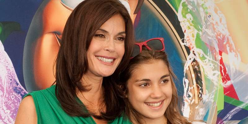 Actress Teri Hatcher is more friends than parent with her young hot daughter
