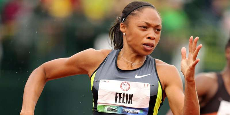 Rumors about Allyson Felix and achievements