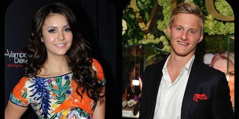 Canadian actor Alexander Ludwig and Nina Dobrev suspected to be dating