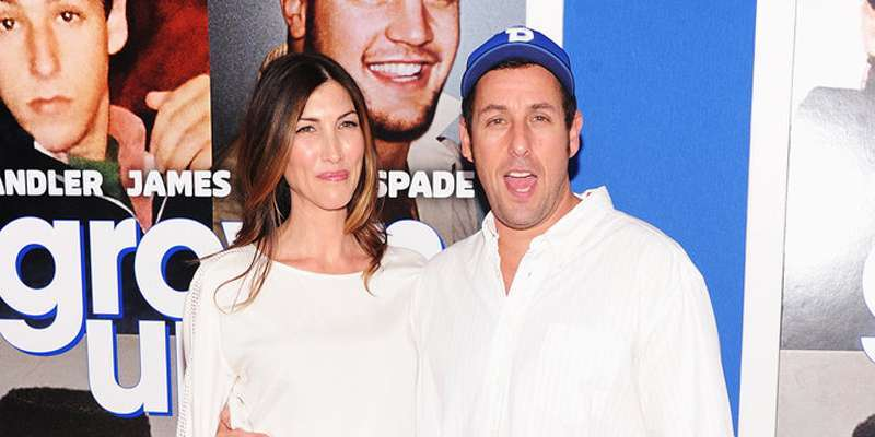 Adam Sandler and Jackie Sandler can't get enough of each other.