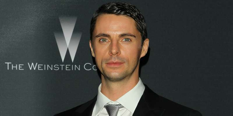 Matthew Goode and partner Sophie Dymoke seem to be having a good time