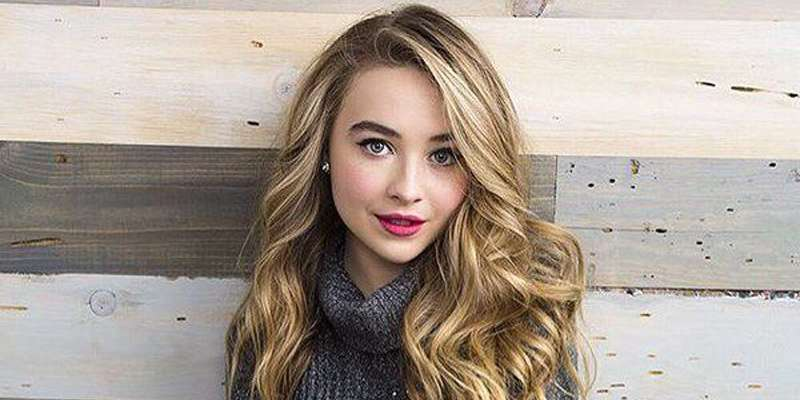 The teenage beauty, Sabrina Carpenter, proud to star in Girl Meets World.
