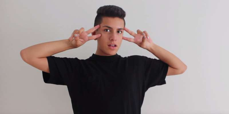 19-year-old YouTuber Lohanthony starred in American drama film - Miss Stevens