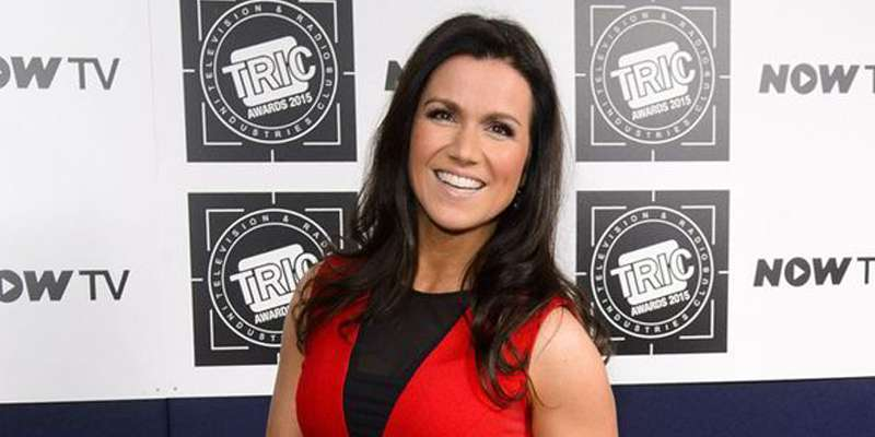 Susanna Reid and Dominic Cotton captured in a restaurant. Are they still together after divorce?