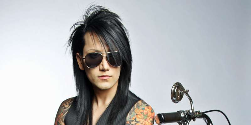 Bassist Ashley Purdy reveals his strain of creating a band before joining Black Veil Brides