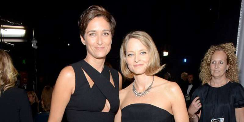 Actress Alexandra Hedison is married to Jodie Foster