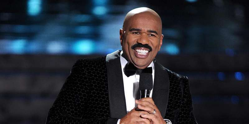 Steve Harvey: 'I was once homeless, living out of his car and showering in gas stations'