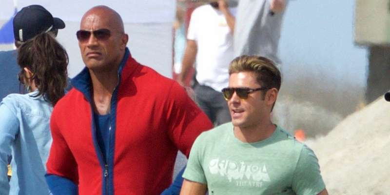 Zac Efron busy shooting upcoming American action comedy movie Baywatch alongside Dwayne Johnson