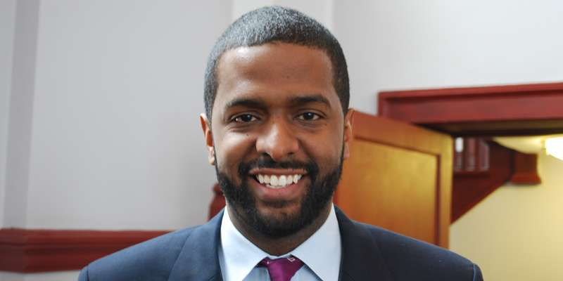 Bakari Sellers in his residence as CNN analyst for presidential primaries