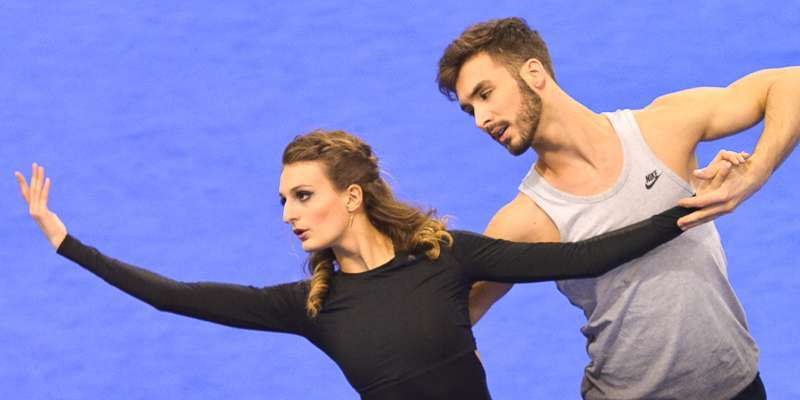 French ice dancer Gabriella Padakis and Guillaume Cizeron relationship. Are they dating?