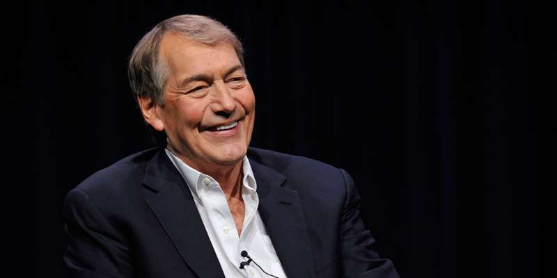 Talk show host Charlie Rose very proud to have received an honorary degree from Duke University