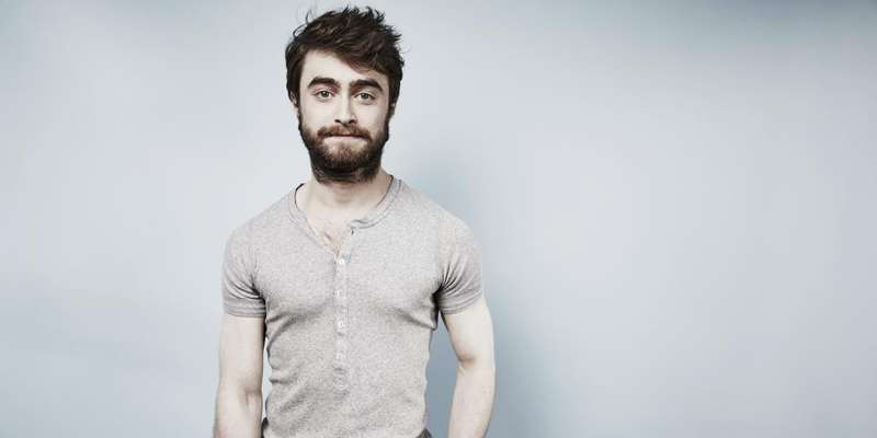 Daniel Radcliffe touring the country with his own corpse for the promotion of his upcoming movie