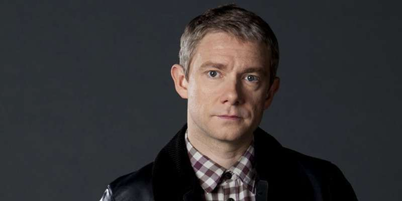 Martin Freeman spotted filming the eagerly anticipated 'Sherlock' season 4 in Central London