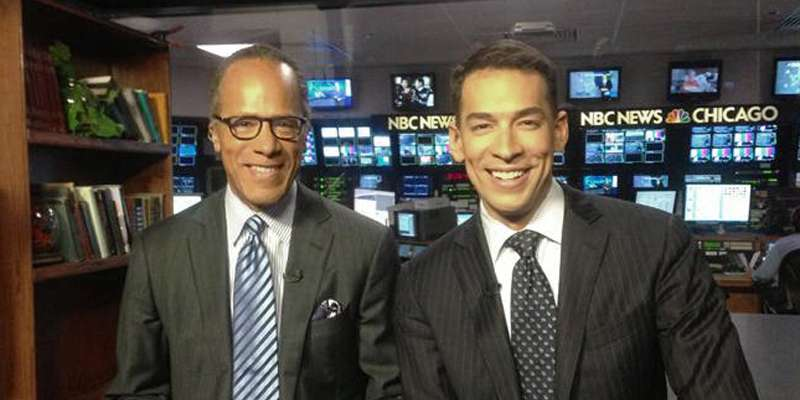 NBC's journalists share their displeasure over Lester Holt's son Stefan joining the network