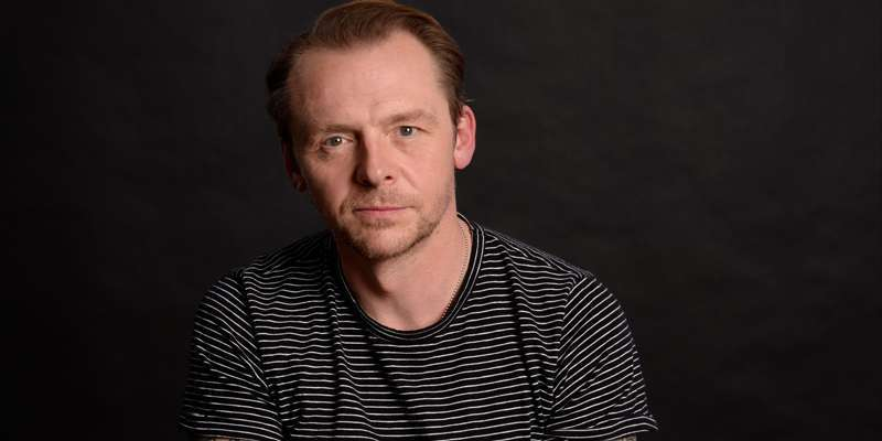 Simon Pegg explains the reason behind the new Star Trek base seen in the trailer of the movie