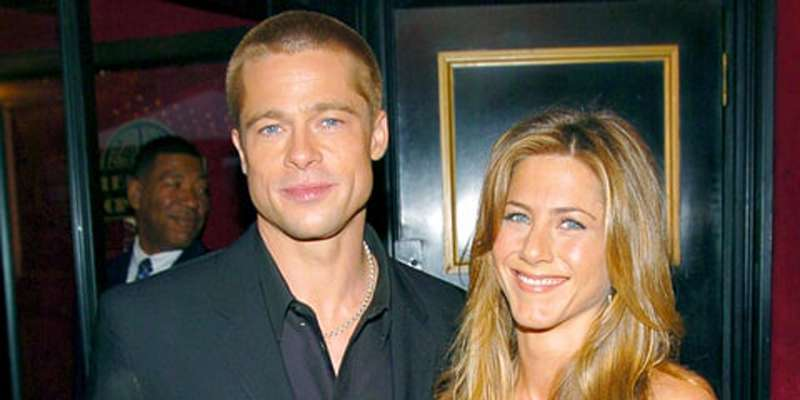 Brad Pitt and Jennifer Aniston rumored to be divorcing their respective spouses to reunite again