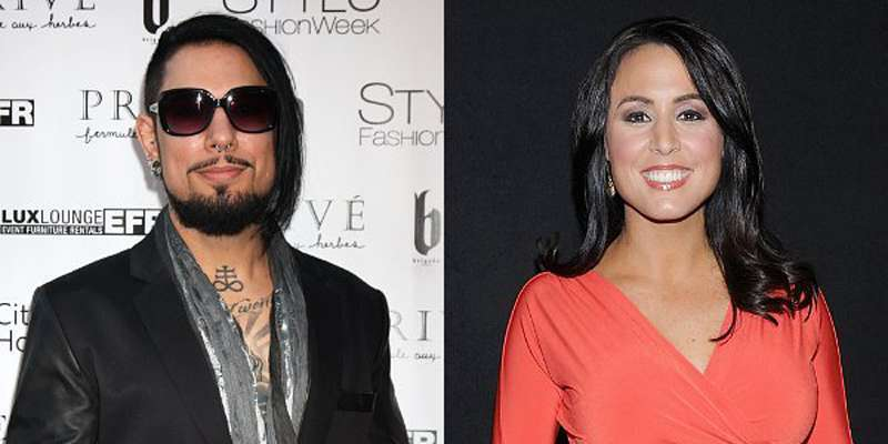 Former host of 'Outnumbered' Andrea Tantaros about to marry her boyfriend Dave Navarro??