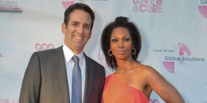 Harris Faulkner With Her Husband Tony Berlin
