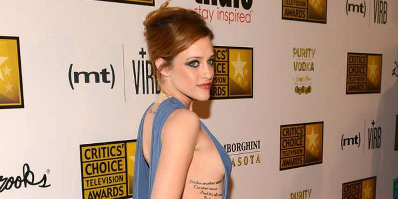 Suburgatory's Carly Chaikin loves inking her body as she boldly flaunts her tattoos time and again