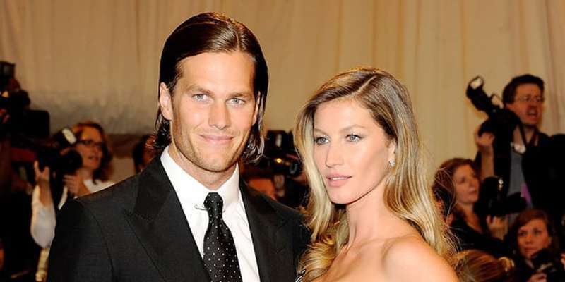 Tom Brady and Gisele Bundchen have a message from Vince Wilfork as he wants to be a model too