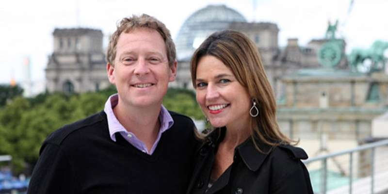 NBC's Savannah Guthrie reveals she's pregnant with second baby with her husband Mike Feldman