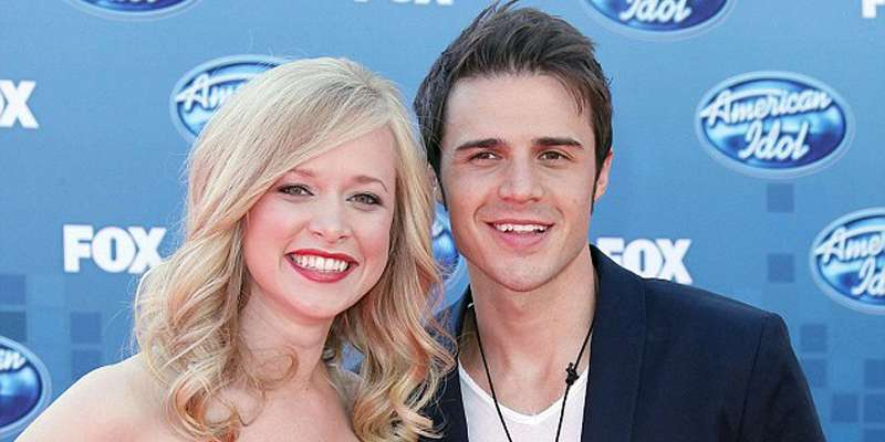 Kris Allen and his wife Katy O'Connell happier than ever after the birth of their daughter Rosie