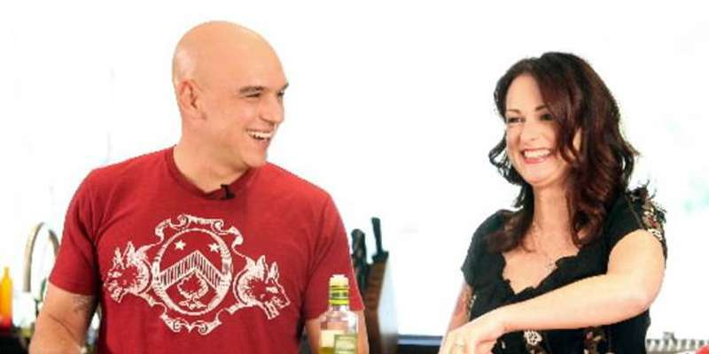 Award-winning chef Michael Symon has a wife, Liz Shanahan, but is still Rumored to be a Gay