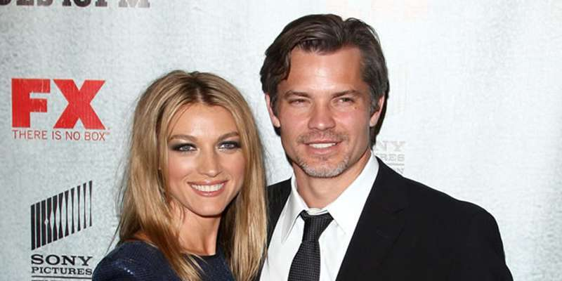 Married For Around 27 Years, Timothy Olyphant And Wife Alexis Knief A Strong Couple With 3 Children