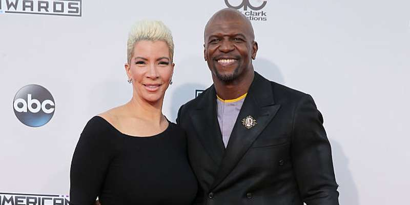 Married since 1990, Proud parents of five Rebecca King Crews and her husband Terry Crews