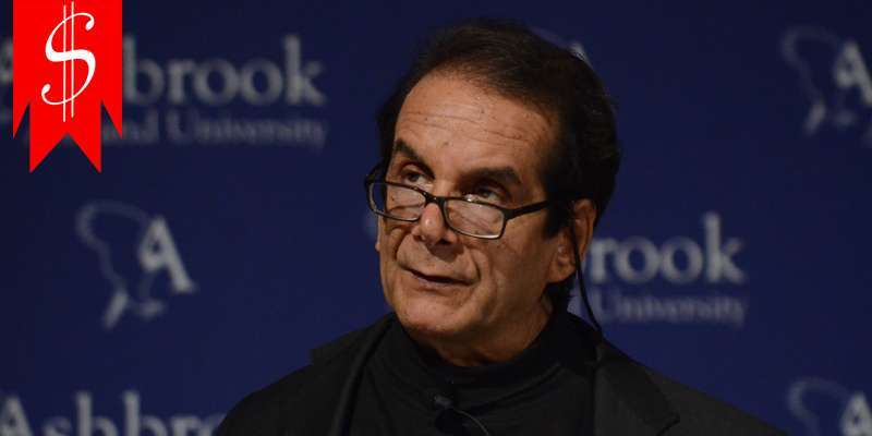 Charles Krauthammer has had a brilliant career and his net worth and salary don't fail to show it
