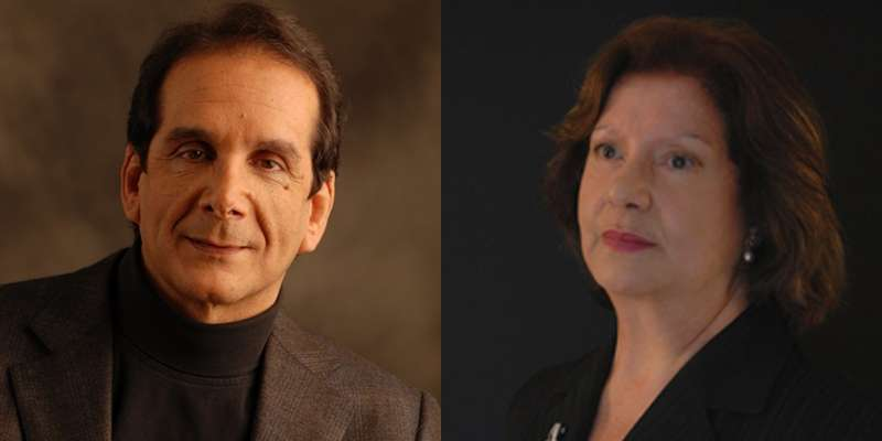 Charles Krauthammer and his wife Robyn Krauthammer