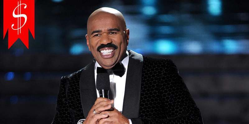 With net worth of more than $120 million and high salary, Steve Harvey one of richest TV celebs