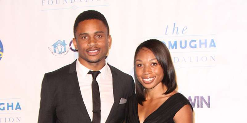 Olympian Allyson Felix SECRETLY married to her long-term boyfriend, Kenneth Ferguson?