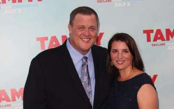 Billy Gardell and wife Patty Gardell happy married life without rumors of divorce; their son William Gardell