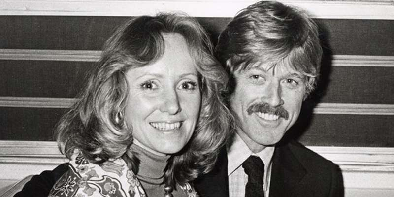 Image result for Robert Redford and Lola van Wagenen