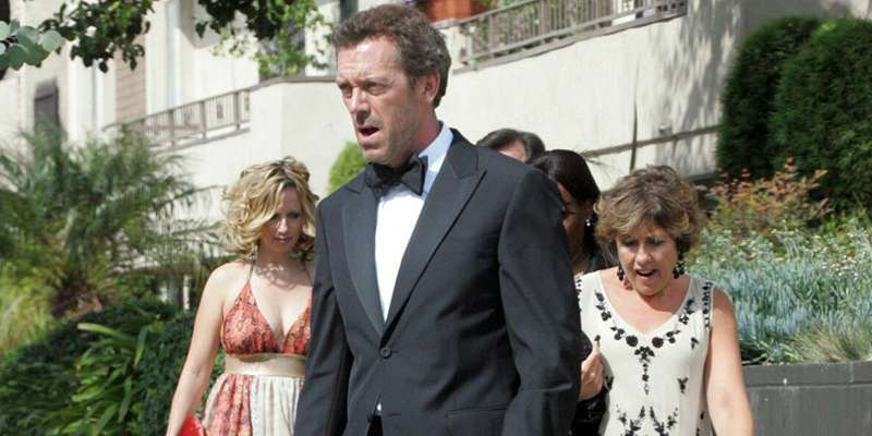 Hugh laurie and...