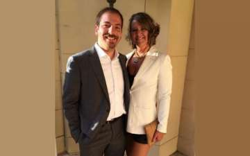Chuck Todd and wife Kristian Todd married without divorce issues as they live with their children