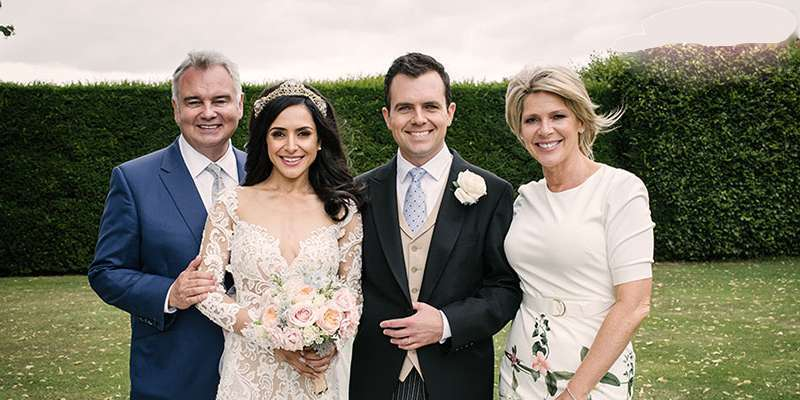 Nazaneen Ghaffar and BBC reporter Charlie Rose get married as both husband and wife on cloud nine
