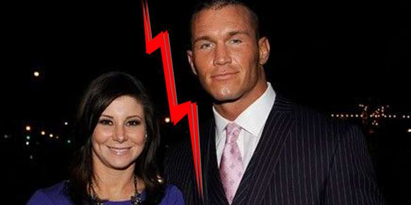 Randy and his ex-wife Samantha