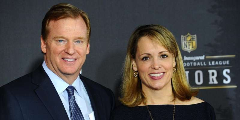 Jane Skinner and her husband Roger Goodell married since 1997 without divorce issues