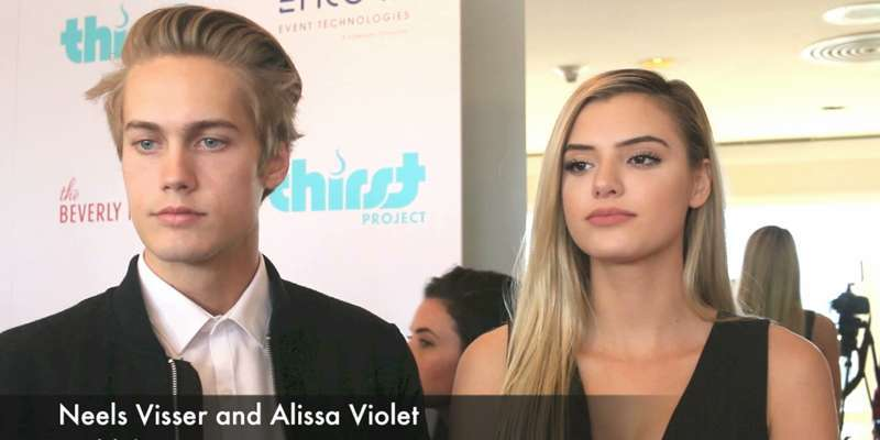 What's going on between Neels Visser and Alissa Violet? Are they dating? Is Alissa his girlfriend?