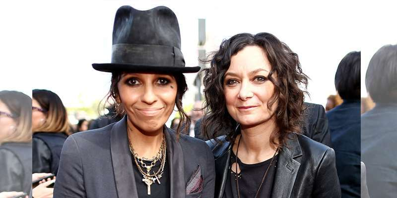 Engaged in 2013 and married a year later, Linda Perry and her spouse Sara Gilbert a perfect couple