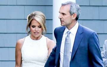 Katie Couric and her husband John Molner happily married after a years of engagement
