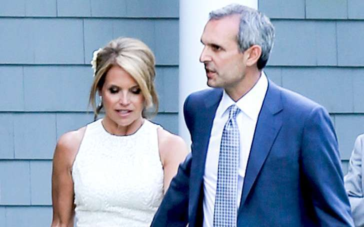 Katie Couric and her husband John Molner happily married after two years of their wedding