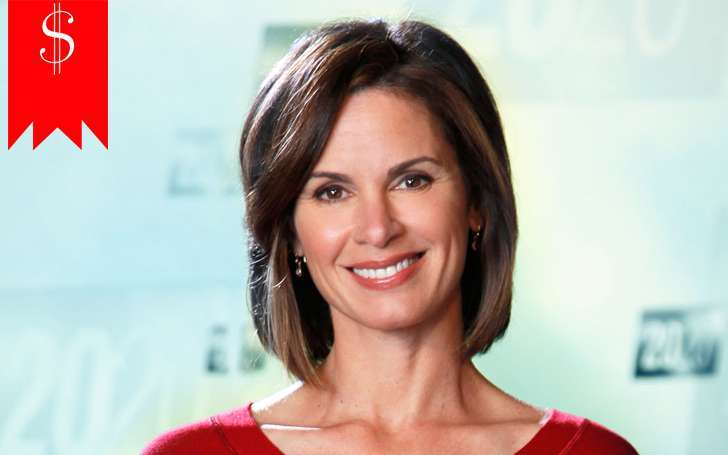With a net worth of $3 million and a high salary, Elizabeth Vargas one of the richest TV anchors