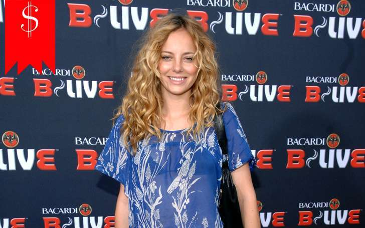 Bijou Phillips' net worth and salary increasing every year as her career makes progress