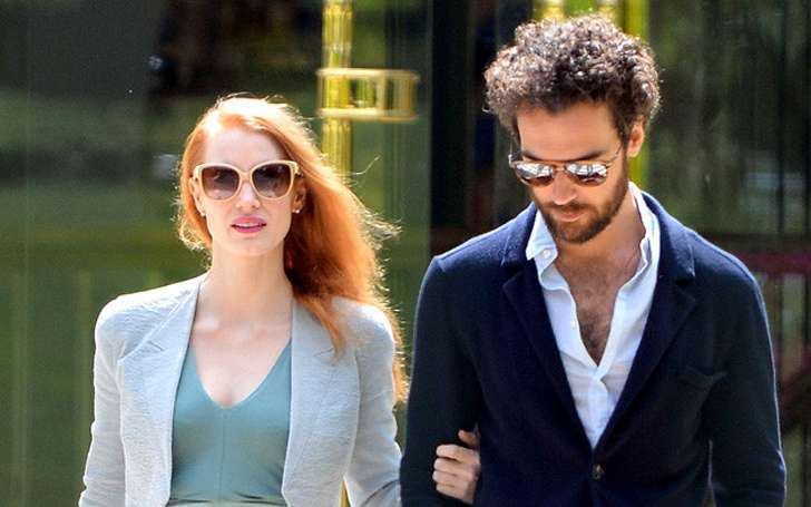 Jessica Chastain dating boyfriend Gian Luca Passi de Preposulo but has doubts about getting married